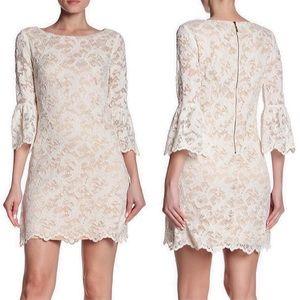 ELIZA J. | Bell Sleeves Lace Dress